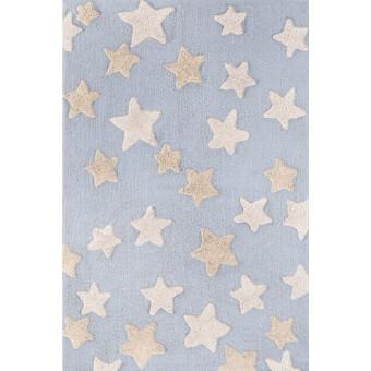 Χαλάκι βαμβακερό | Night Sky L. Blue | 100 x 150
