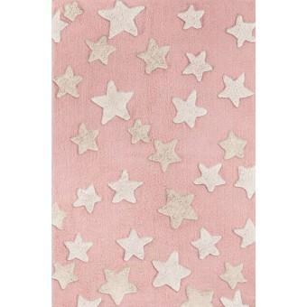 Χαλάκι βαμβακερό | Night Sky Pinky | 130 x 180