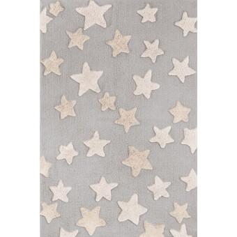 Χαλάκι βαμβακερό | Night Sky Silver | 110 x 150