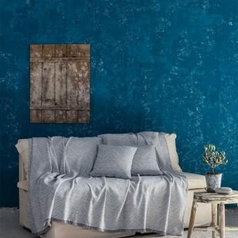 Ριχτάρι τριθέσιου καναπέ βαμβακερό   Requiem Gray   180x300