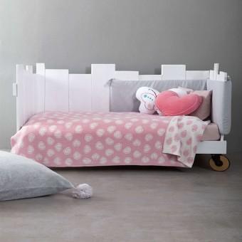 Κουβέρτα λίκνου Candy   80x110