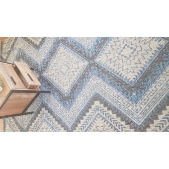 Χαλί Ψάθινο NS Carpets | L. Grey - Blue | 150x240