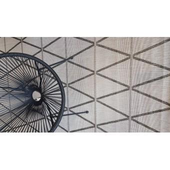 Χαλί Ψάθινο NS Carpets | Geo Gray | 160x230