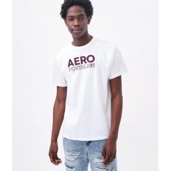 Μπλούζα μακό κοντομάνικη   Logo Aplique Graphic Tee λευκό