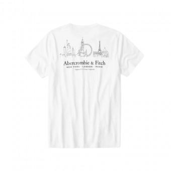 Μπλούζα μακό κοντομάνικη abercrombie&fitch175-123-0096-012