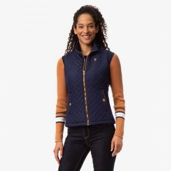 Αμάνικο Μπουφάν Γυναικείο   US Polo Assn   Αδιάβροχο   Μπλε   No Small
