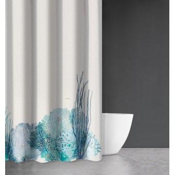 Κουρτίνα μπάνιου | υφασμάτινη αδιάβροχη | 180x200 | Seawater Des 620