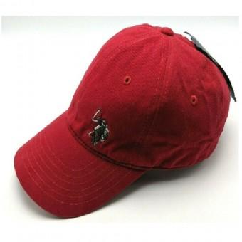 Καπέλο US POLO τύπου baseball | One Size | Κόκκινο