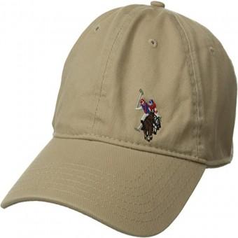 Καπέλο US POLO τύπου baseball | One Size | Μπέζ