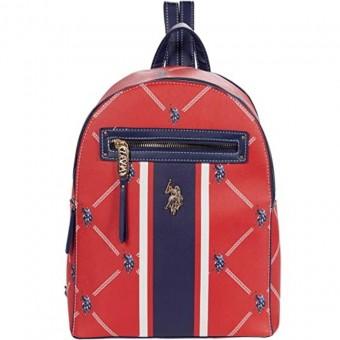 Τσάντα Γυναικεία | Backpack | U.S. Polo Assn. USPA Signature | Κόκκινη | 27A117AA-REDD