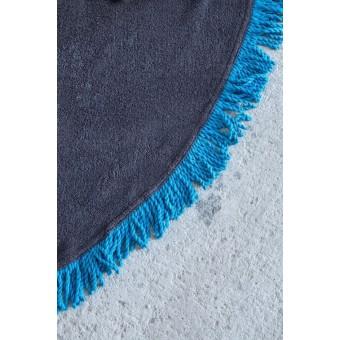 Πετσέτα Θαλάσσης   Στρογγυλή Vibe Gray   R150