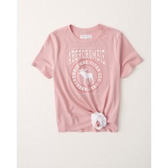 Μπλούζα παιδική | μακό κοντομάνικη | ροζ