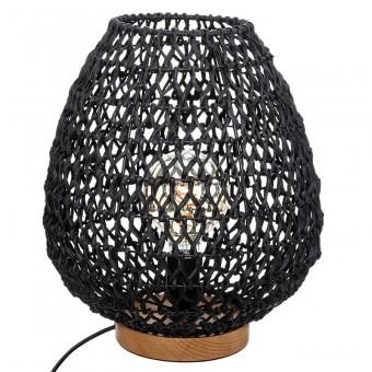 Φωτιστικό επιτραπέζιο | Etel E27 μαύρο |199-000187