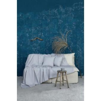 Ριχτάρι τριθέσιου καναπέ βαμβακερό   Illusie Gray   180x300