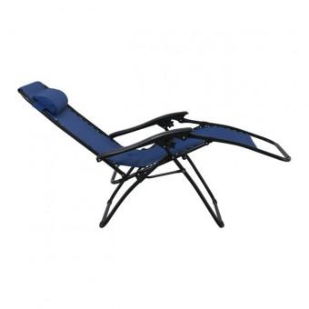 Πολυθρόνα Super Relax Textilene Μπλέ 5 θέσεων | E618,2