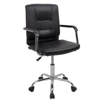 Καρέκλα γραφείου Μαύρη BF3400 | 53x54x87/97cm