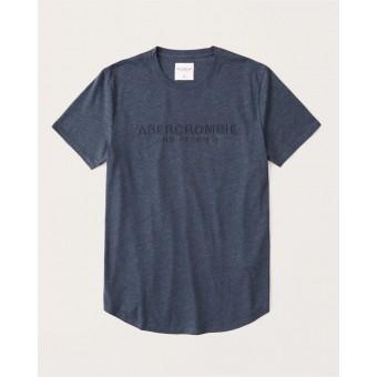 Μπλούζα μακό κοντομάνικη abercrombie&fitch|123-238-2925-023
