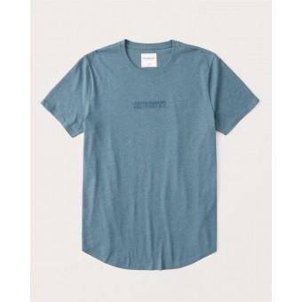 Μπλούζα μακό κοντομάνικη abercrombie&fitch|123-238-0123-020